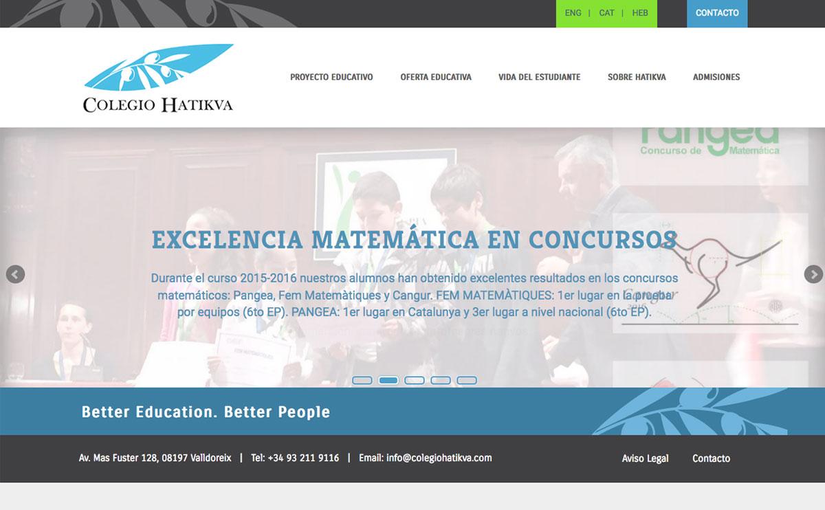 Web: Colegio Hatikva