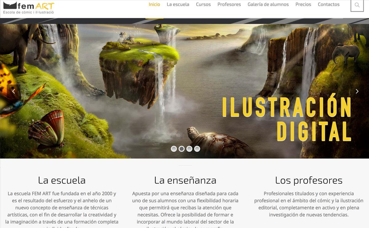 Web: Escola FemArt