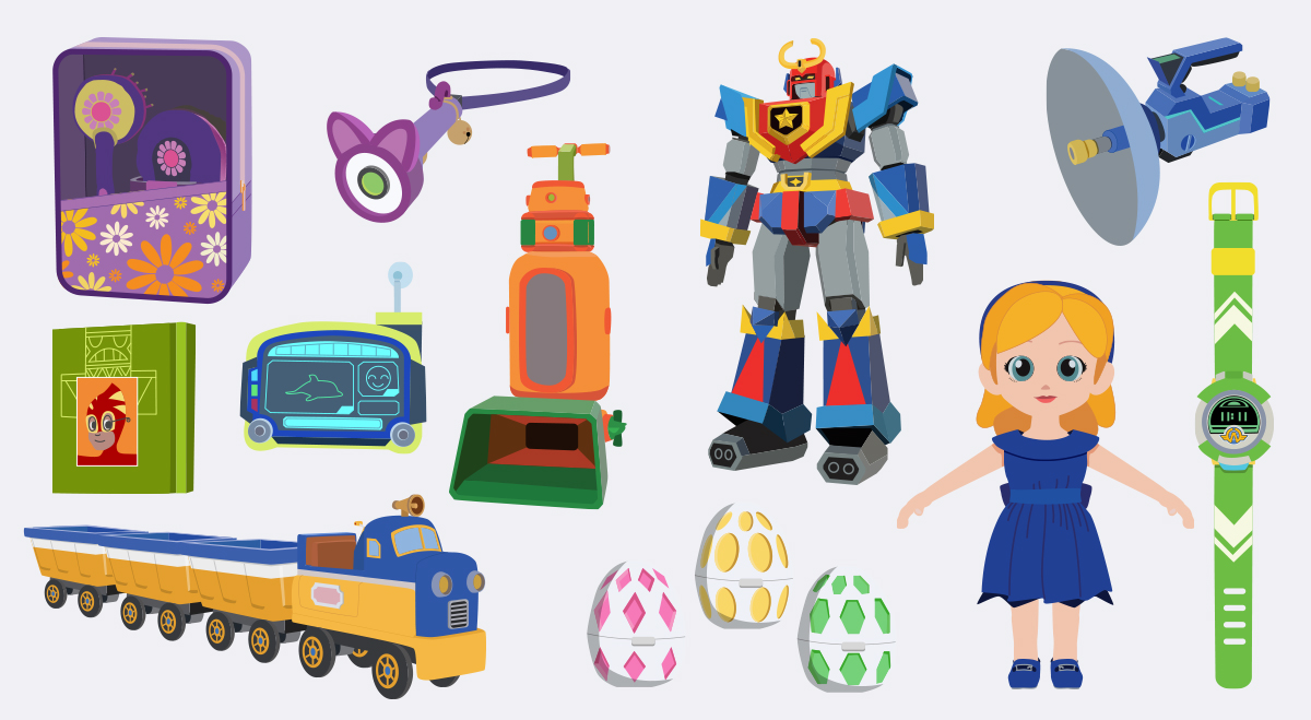 Superwings Illustrations