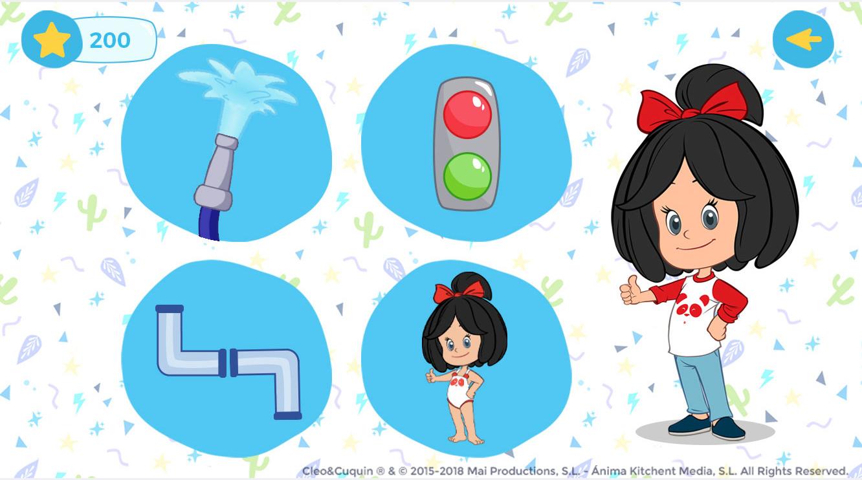 Cleo y Cuquín Screen App