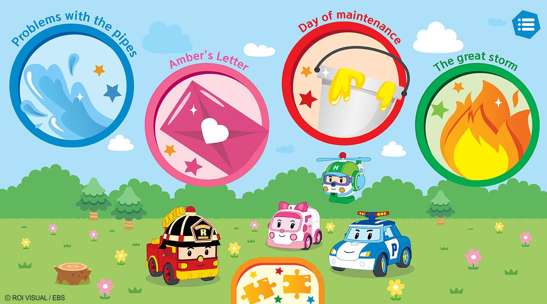 Robocar Poli Screen App