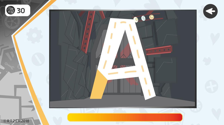 Robot Trains Screen App