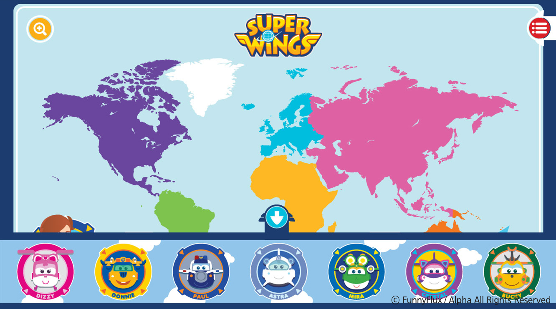 Superwings Screen App